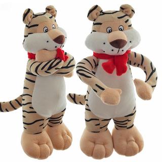 """Мягкая игрушка """"Тигр в шарфе"""""""