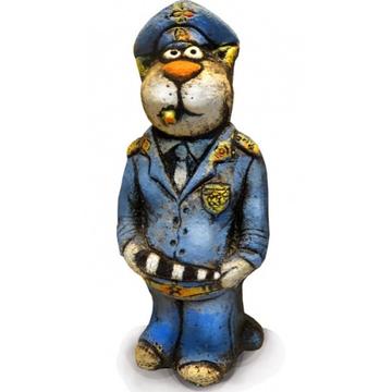 Сувенир Кот Полицейский (шамот)
