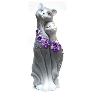 "Статуэтка ""Кошка Свидание"" (цветы), 3 вида"