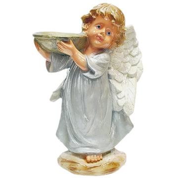 """Сувенир из гипса """"Ангел в платье"""""""